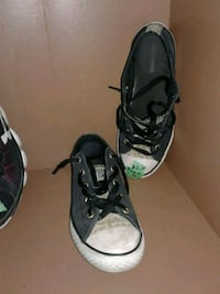 pair of black Converse All Star high-top sneakers Calgary, T3B 0T3