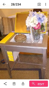 Vintage sewing cabinet upcycled into vanity Winchester, 40391