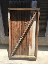 Wood gate  Bakersfield, 93311