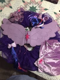 My Little Pony costume, bag and necklace Keller, 76248