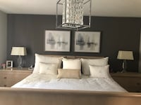 king bed and two end  tables  Whitchurch-Stouffville, L4A 0G4