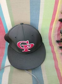 black and red Chicago Bulls fitted cap Chula Vista, 91911