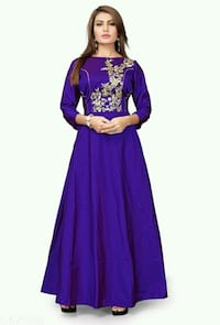 women's purple abaya dress