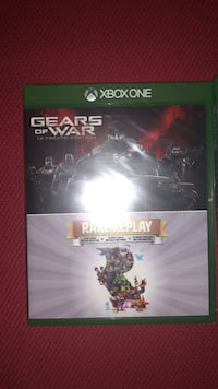 Xbox One Gears of War game case