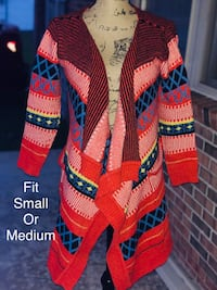 women's multicolored striped cardigan Jacksonville, 28540