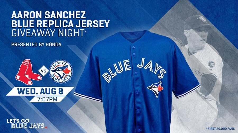 e93613993 ... order used toronto blue jays aaron sanchez jersey for sale in richmond  hill letgo 10013 1dfd5