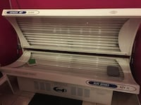 28 bulb commercial tanning bed with timer