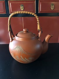 Just reduced - Vintage Japanese Clay Teapot