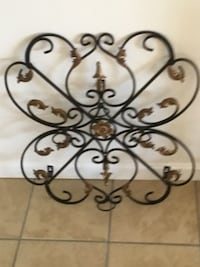 Wrought iron wall candle holder Hagerstown, 21742