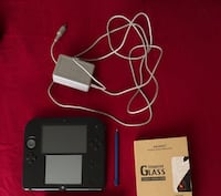 Nintendo 2ds, screen protector, charger, stylus pen BUNDLE Derwood, 20855
