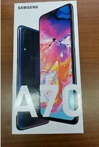 Samsung A70 brand new in sealed box