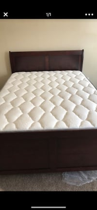 Bed for sale for 160 mattress not included  Catonsville, 21228