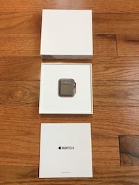 New Rose Gold aluminum apple watch with box
