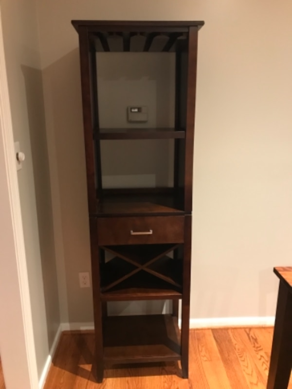 Wine storage cabinet/rack $20