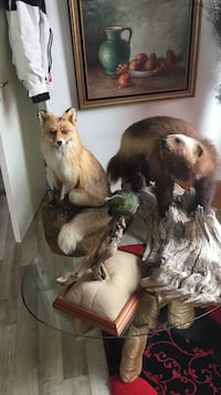 Brown Fox og Brown Bear Table Decors Stavanger, 4014
