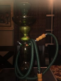 green and black hookah with hose Long Beach, 90805