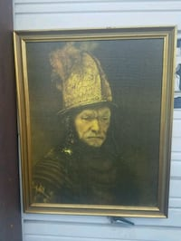 brown wooden framed painting of woman Gainesville, 32609