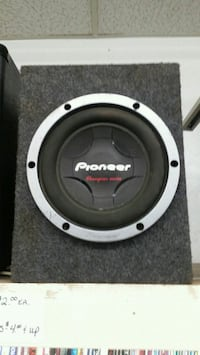 "10"" Pioneer subwoofer IN BOX Visalia, 93277"
