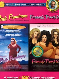 JOHN WATERS DVD BOX SET COLLECTION PINK FLAMINGOS HAIRSPRAY PECKER POLYESTER FEMALE TROUBLE Chantilly, 20151