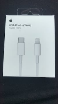 White lightning to usb cable box Toronto, M8Z 5X7