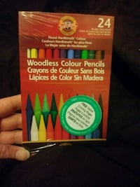 Woodless Colour Pencils .. 24ct Sacramento, 95822