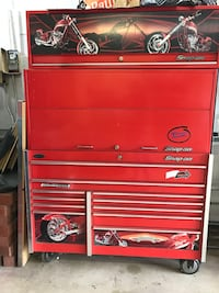 red Snap-On tool chest Inwood, 11096