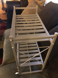 """New aluminum shelf bathroom I'm selling because don't fit in my bathroom $20 OBO L-19 W-9,5 H-19"""" East Palo Alto, 94303"""