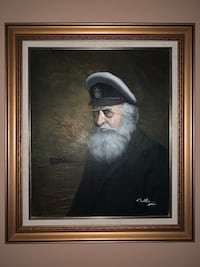David Pelbam Old Captain painting Whitchurch-Stouffville, L4A 1J9