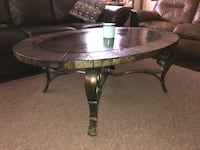 3 set stone top side tables and coffee table Melbourne, 32935