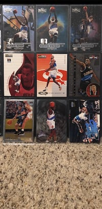 six assorted football trading cards Kent, 98042