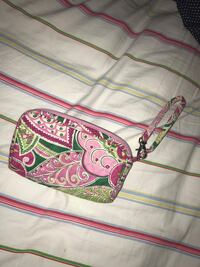 pink and green floral wristlet Rocky Mount, 27804