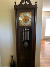 Winterhalder 3 train Westminster chime grandfather clock