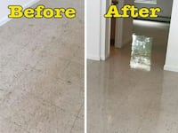 Floor service waxing and buffing Muskogee