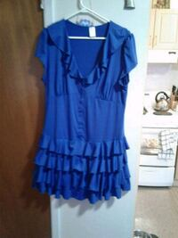Blue short dress 1xl 463 km