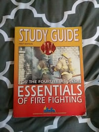 Study guide essentials of fire fighting book.
