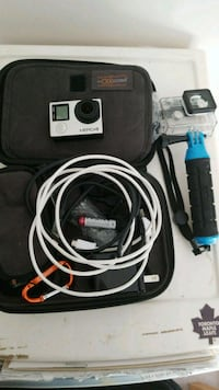 black GoPro Hero action camera Milton, L9T 3X8