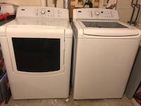 White washer and dryer set 39 km