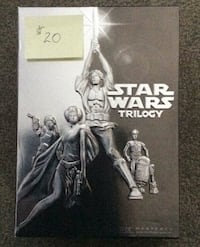 Star Wars Trilogy  4 DVD's Surrey, V3R 0P1