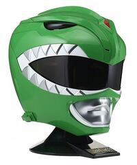 Casco Power Ranger Verde replica 1:1  6418 km