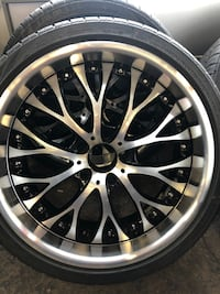 "4 20"" inch rims and tires for sale Silver Spring, 20904"