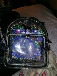 Used holographic PINK backpack Glen Burnie, 21060