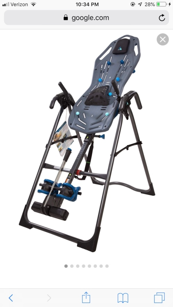 Teeter fitspin inversion table