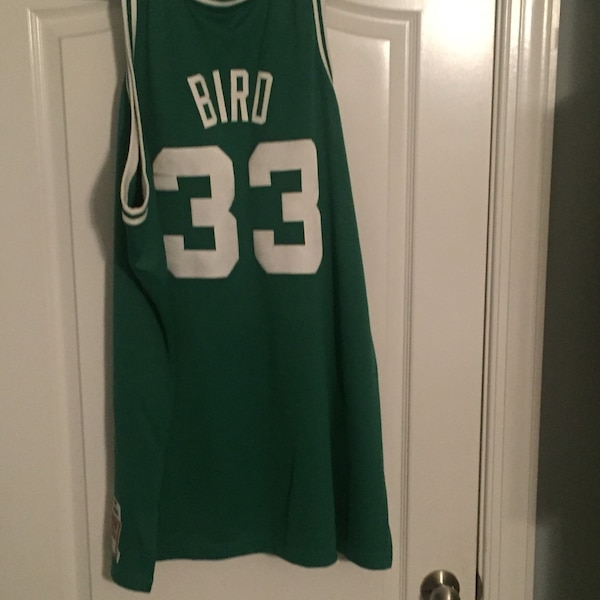 0cfc6b7bec8d Used red and white Larry Bird number 33 Boston Celtics jersey for sale in  Charlotte