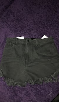 High Rise Black Shorts/ Size 28  Manassas, 20110