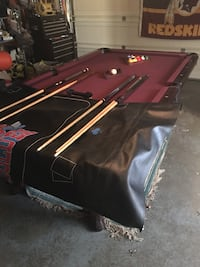 Red and black billiard table Portland, 97222