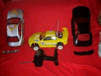 two black and red RC car toys Toronto, M1K 2G1