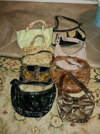 Medium size purses