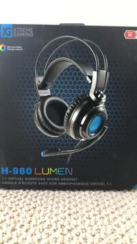Xtreme gaming H-980 Lumen gaming headphone 基洛纳, V1W 3H3