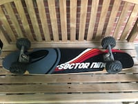 Sector 9 longboard with off-road wheels. Good for beach or any surface rides smooth Wilmington, 19803
