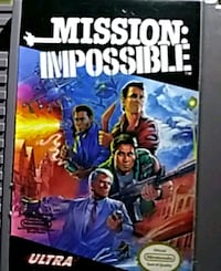 Mission Impossible Nintendo Game used Liberty, 77575